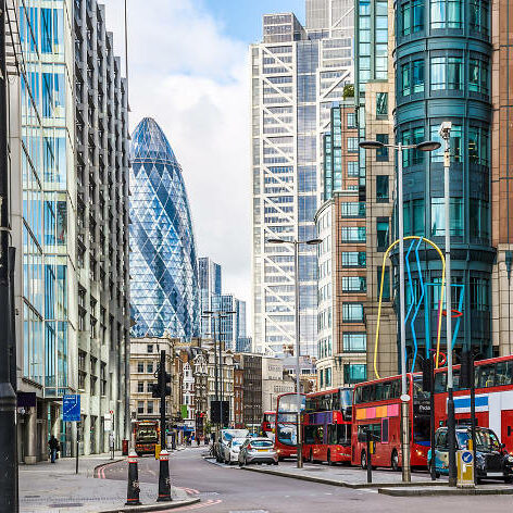 Professional cleaners in the city of London
