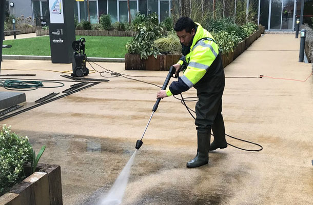 jet wash cleaning london