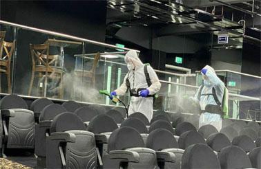 fogging antiviral cleaning london